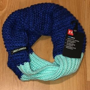 UNDER ARMOUR COLDGEAR Girls Knit Neck Gaiter Scarf